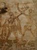Frescos en la fachada de la abadia de Rocamadour (Aveyron)