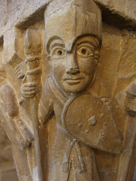 Capitel en Conques (Aveyron)