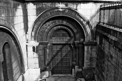 Steps down to crypt which was closed - Judy decided walking up to the dome would be a great idea - wasn't sure that I agreed with her - we had already walked up hundreds of steps to get this far.