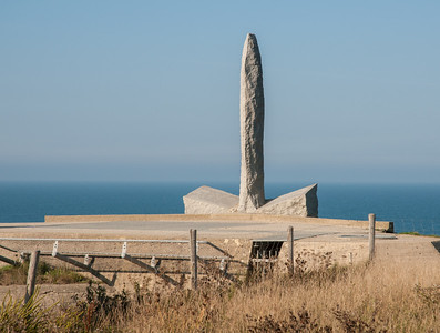 Memorial at Pointe du Hoc