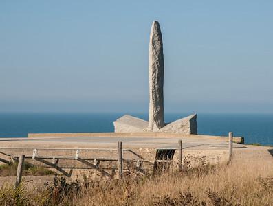 Memorial at Pointe du Hoc