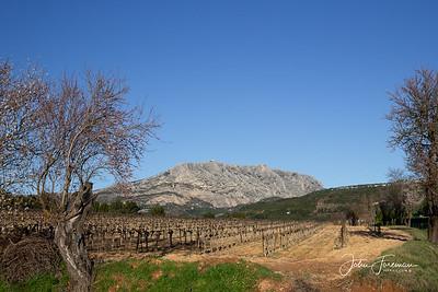 Mont St Victoire, Provence