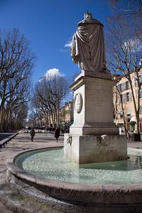 Statue du Roi René, Aix en Provence