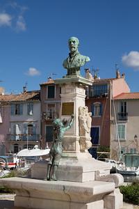 Statue d'Etienne Richaud, Martigues
