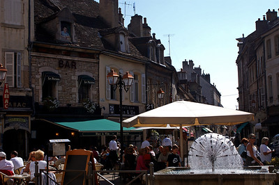 In Beaune, on our way from Bonn to Millau