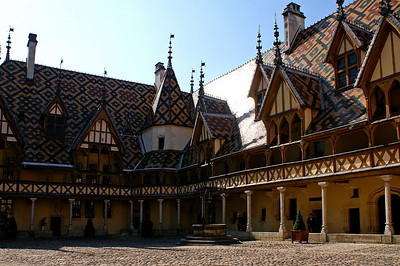 Hôtel Dieu in Beaune - formerly used as a hospital