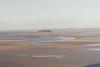 Desde Mont Saint Michel antes de que suba la marea