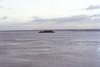 Desde Mont Saint Michel despues de que suba la marea
