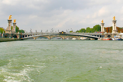 One last look at the Pont Alexandre III.