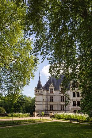 Chateau d'Azay-le-Rideau, Loire Valley, France, Europe