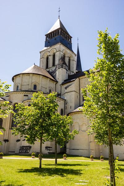 Abbaye Royale de Fontevraud, Loire Valley, France, Europe