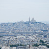 Mont Martres, Sacre Coeur, taken with 200mm lens from about halfway up the tower.