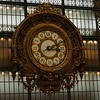 I did take a shot of the clock in the d'Orsay as we were leaving.
