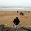 Charles at Omaha Beach, Normandy