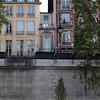 tiniest house in Paris, one door and one window.