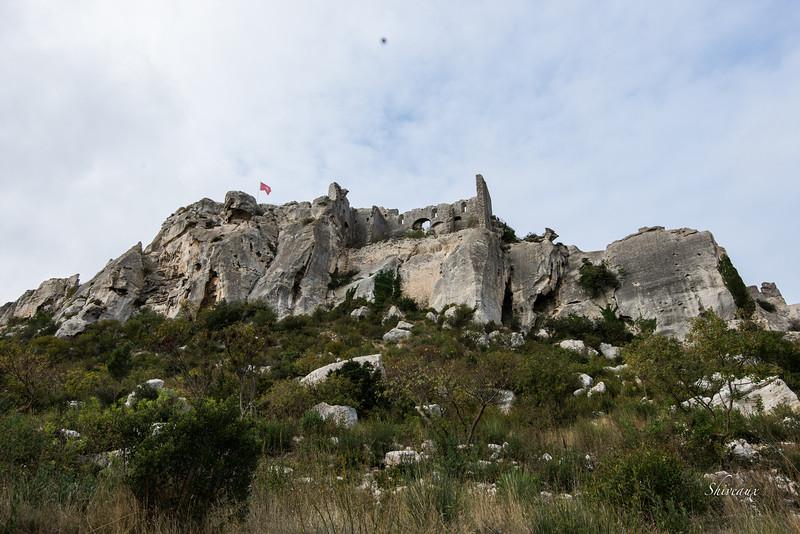Chateau des Baux-de-Provence Nov. 2013