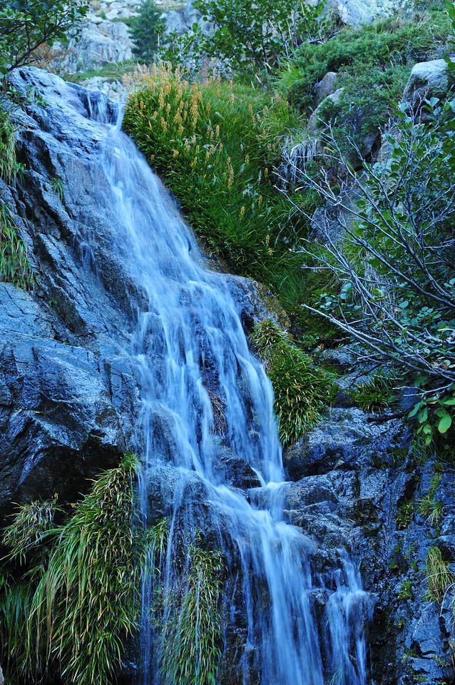 Hiking through the Restonica valley towards Lac de Capitello