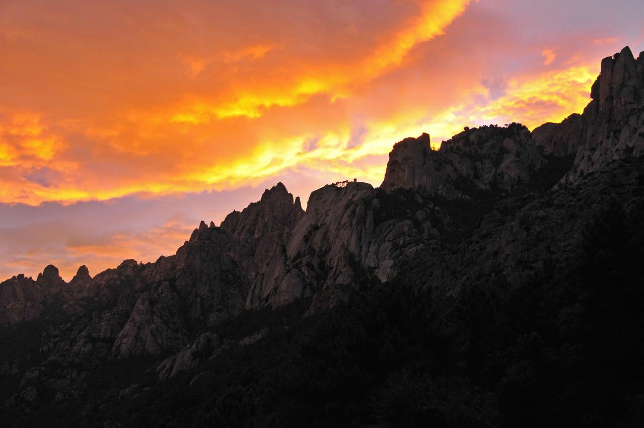 Sunset near Fiumicelli