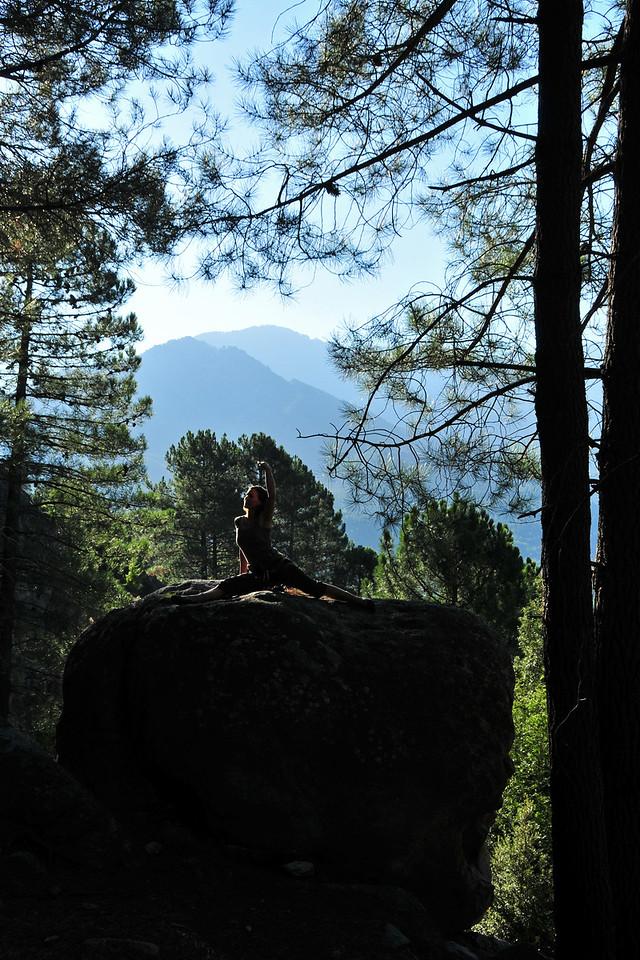 Climbing near Vivario