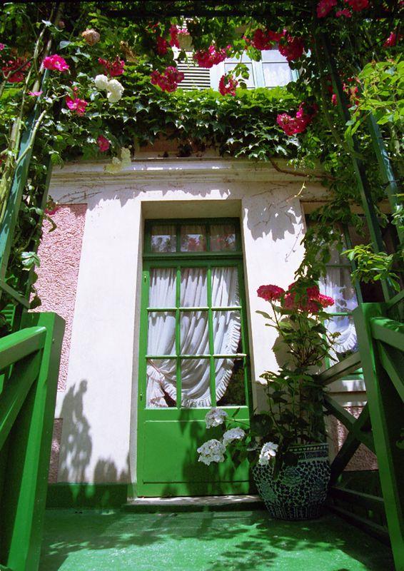 Monets Back Door