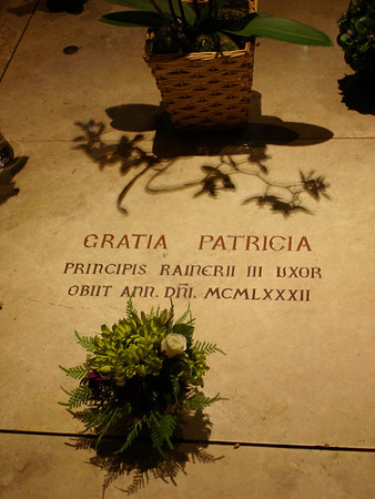 Tomb of Princess Grace (Grace Kelly)