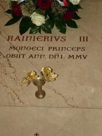 Tomb of Prince Rainier