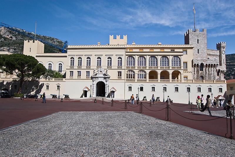 Monaco; Place du Palais