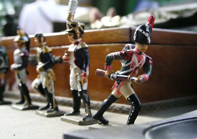 Toy Soldiers #1