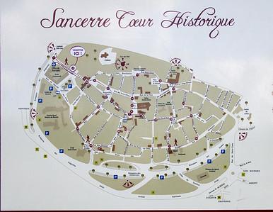 Map of Sancerre