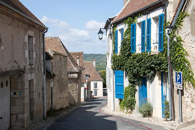 View from Street - Sancerre