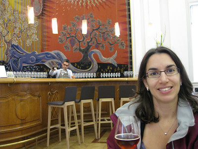 Having a taste in Maison du Vin (for the record, that is grape juice)