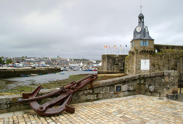 Concarneau 2 - entry point to the walled town