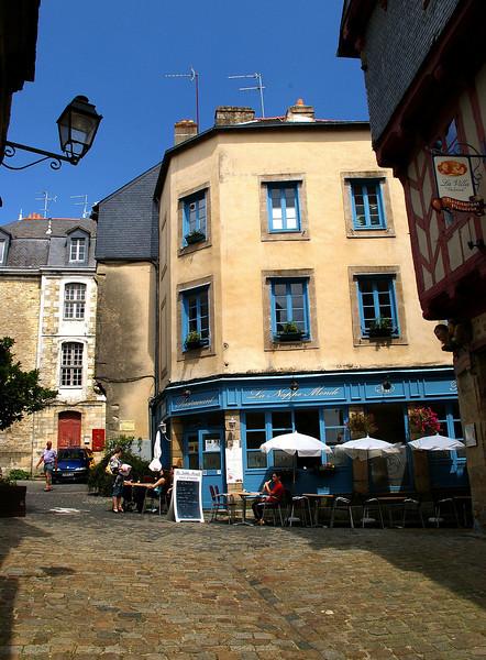 Vannes - town centre