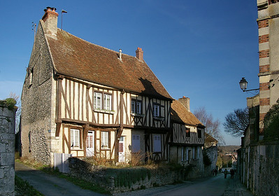 Provins - half timbered house
