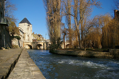 Moret - the Loing River