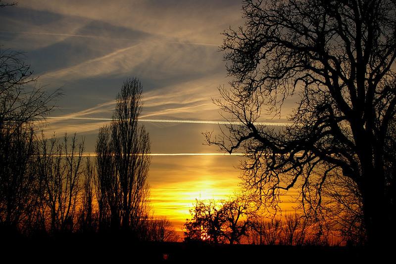 Provins - sunset