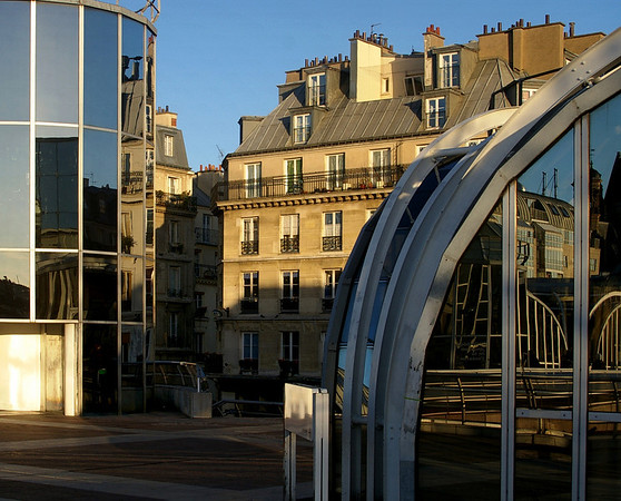 Shadows and Reflections, Les Halles Winter, 2007