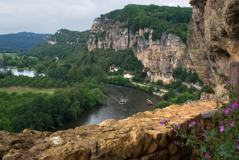 La Roque Gageac, one of the most beautiful villages in France