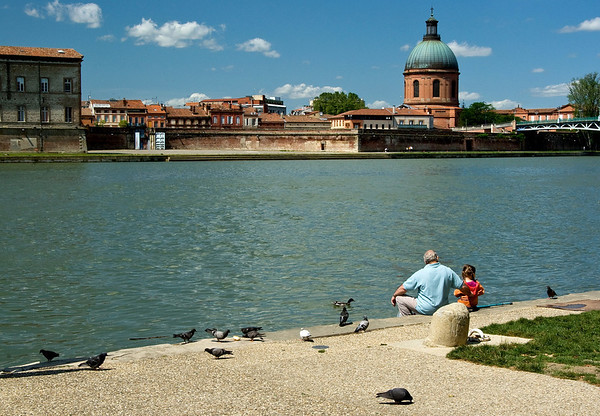 Toulouse in southern France - 'La ville rose' - the pink city.
