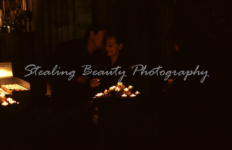 Notre Dame couple