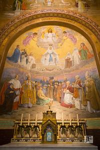 Rosary Basilica, Lourdes