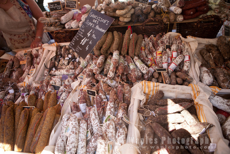 Saucissons, dried sausages
