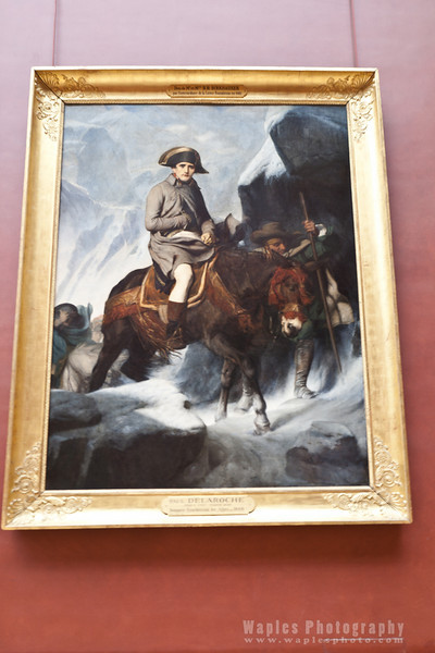 Napoleon crossing the Alps, Delaroche