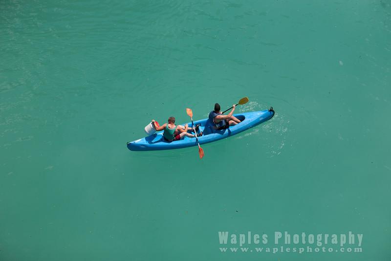 Boating on Lake Ste-Croix