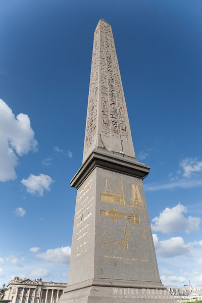 The 3,200-year-old obelisk from Luxor, Egypt