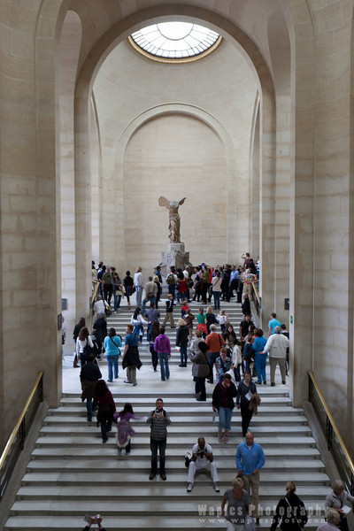 Staircase, Winged Victory of Samothrace