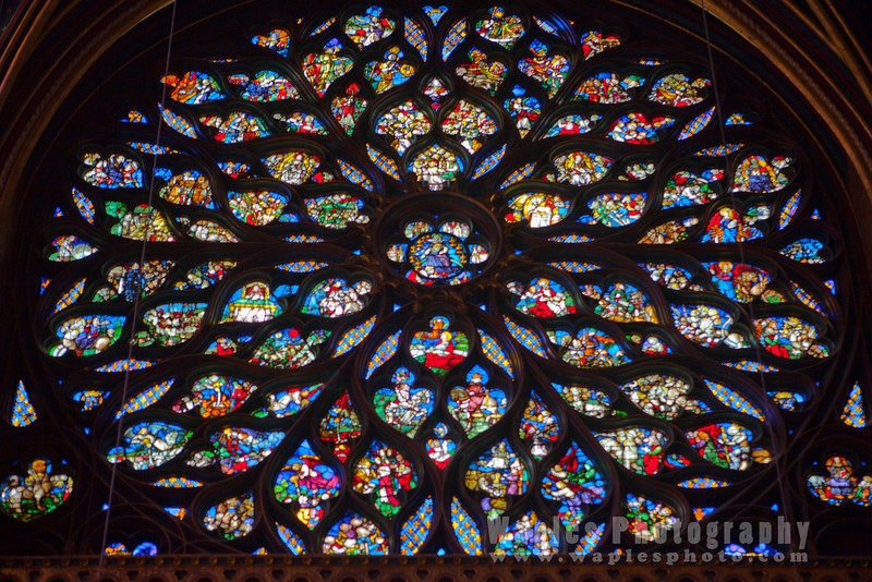 Magnificent Rose Window, Sainte-Chapelle