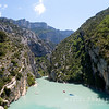 Entering Gorges du Verdon