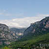 View of Gorges du Lupes, Grasse