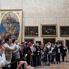 Crowd by The Mona Lisa